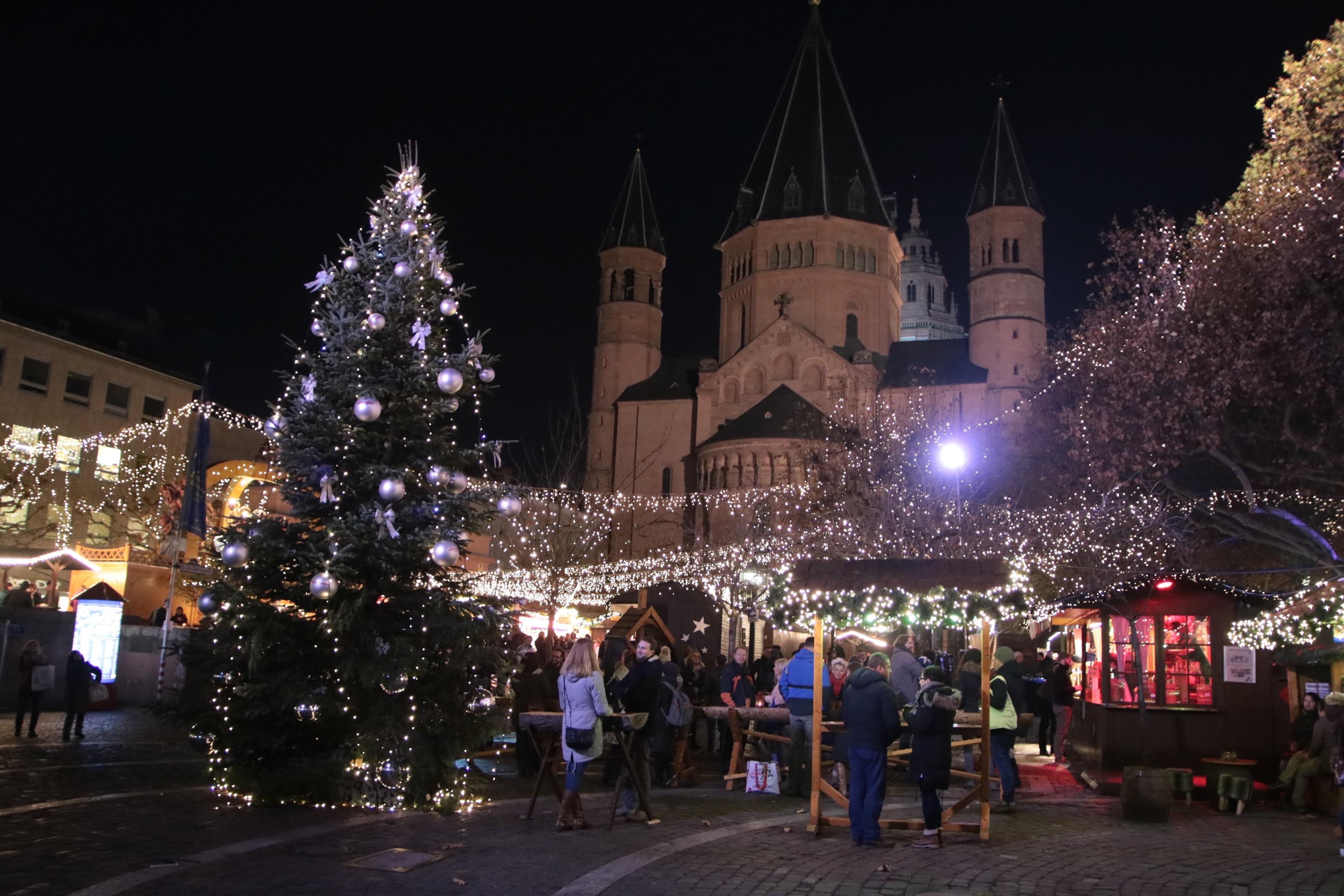 Weihnachtsmarkt Mainz.Der Weihnachtsmarkt Ist Eröffnet